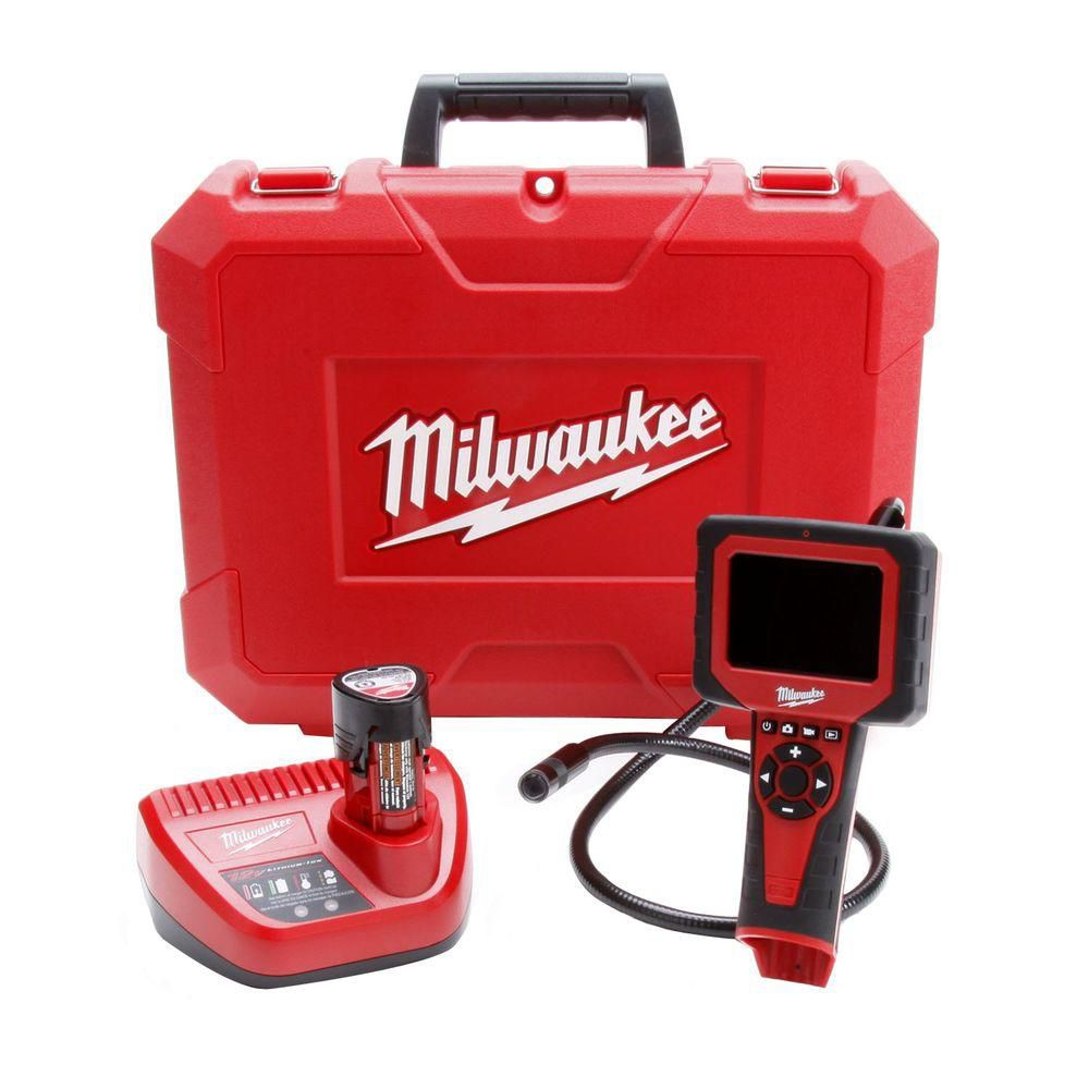 Milwaukee Tool M12 M-Spector AV Cordless LITHIUM-ION Multimedia Camera Kit (17mm)