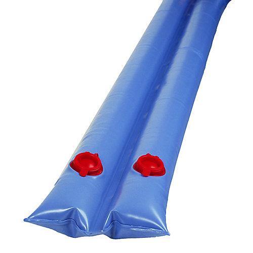 Tube d'eau double de 2,4 m (8 pi) pour couverture d'hivernage de piscine