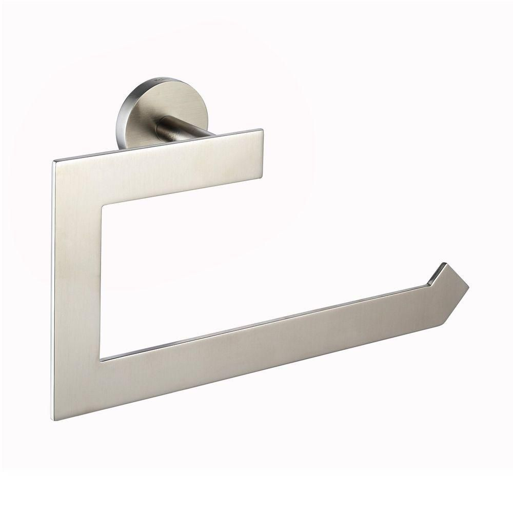 Imperium Bathroom Accessories - Towel Ring Brushed Nickel