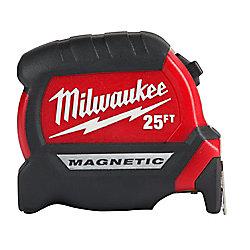 Milwaukee Tool 25-foot Premium Magnetic Tape Measure