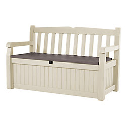 Jardin Garden Bench with 9.35 cu. ft. Storage Compartment