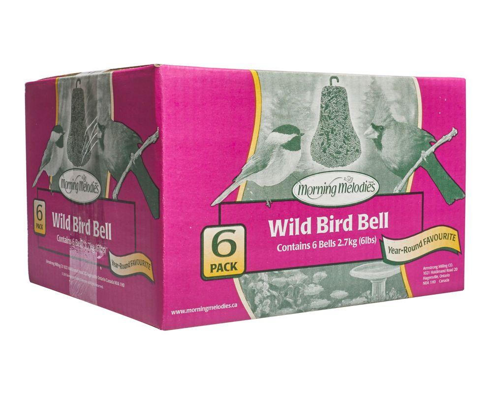 Scotts 6 cloches pour oiseaux sauvages