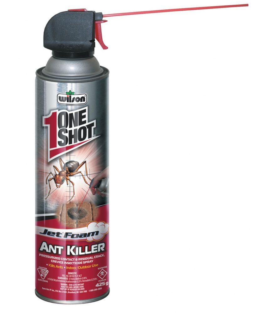 Tue-fourmis à jet de mousse Wilson (425 g)