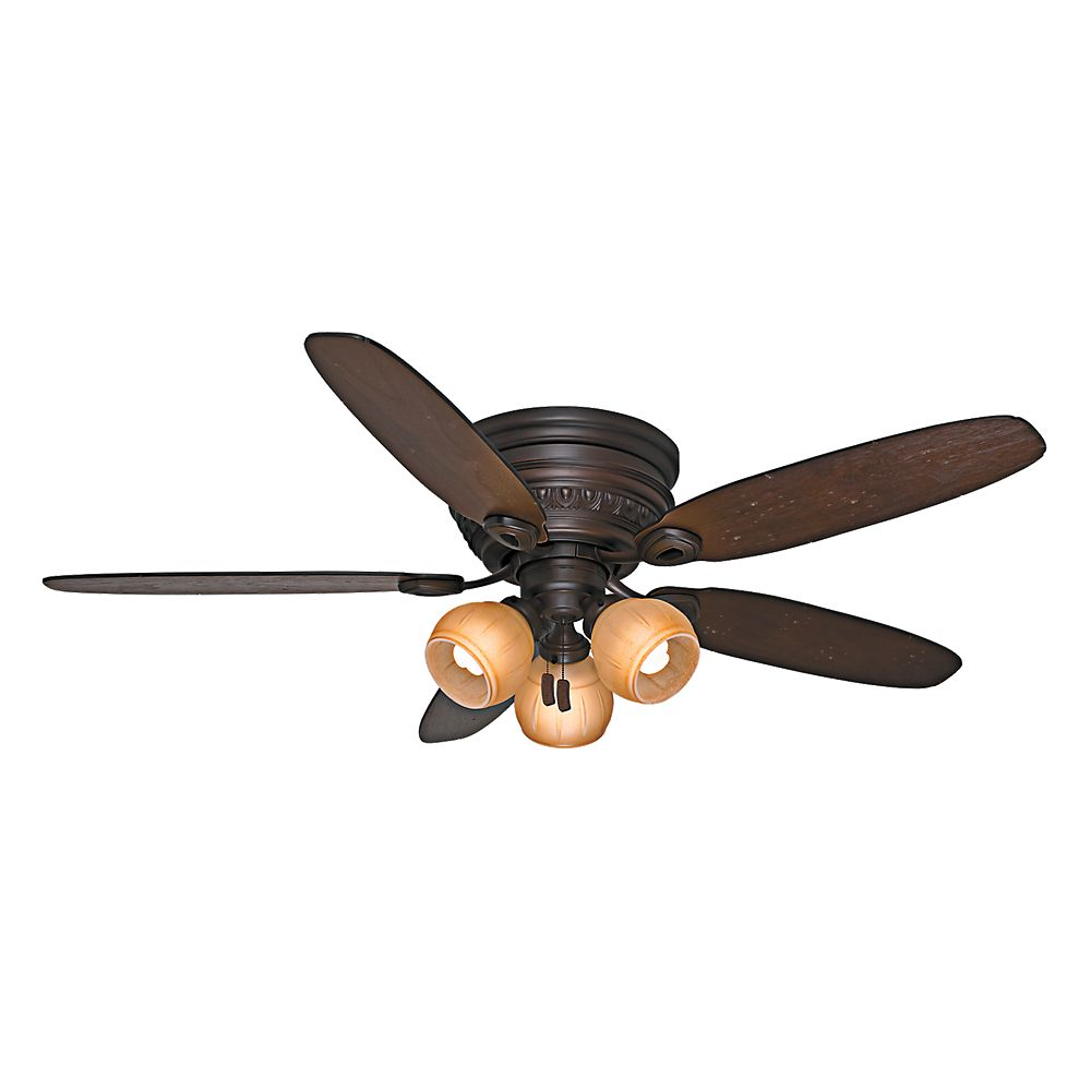 Casablanca Caledonia 54 Inch  Brushed Cocoa Indoor Ceiling Fan