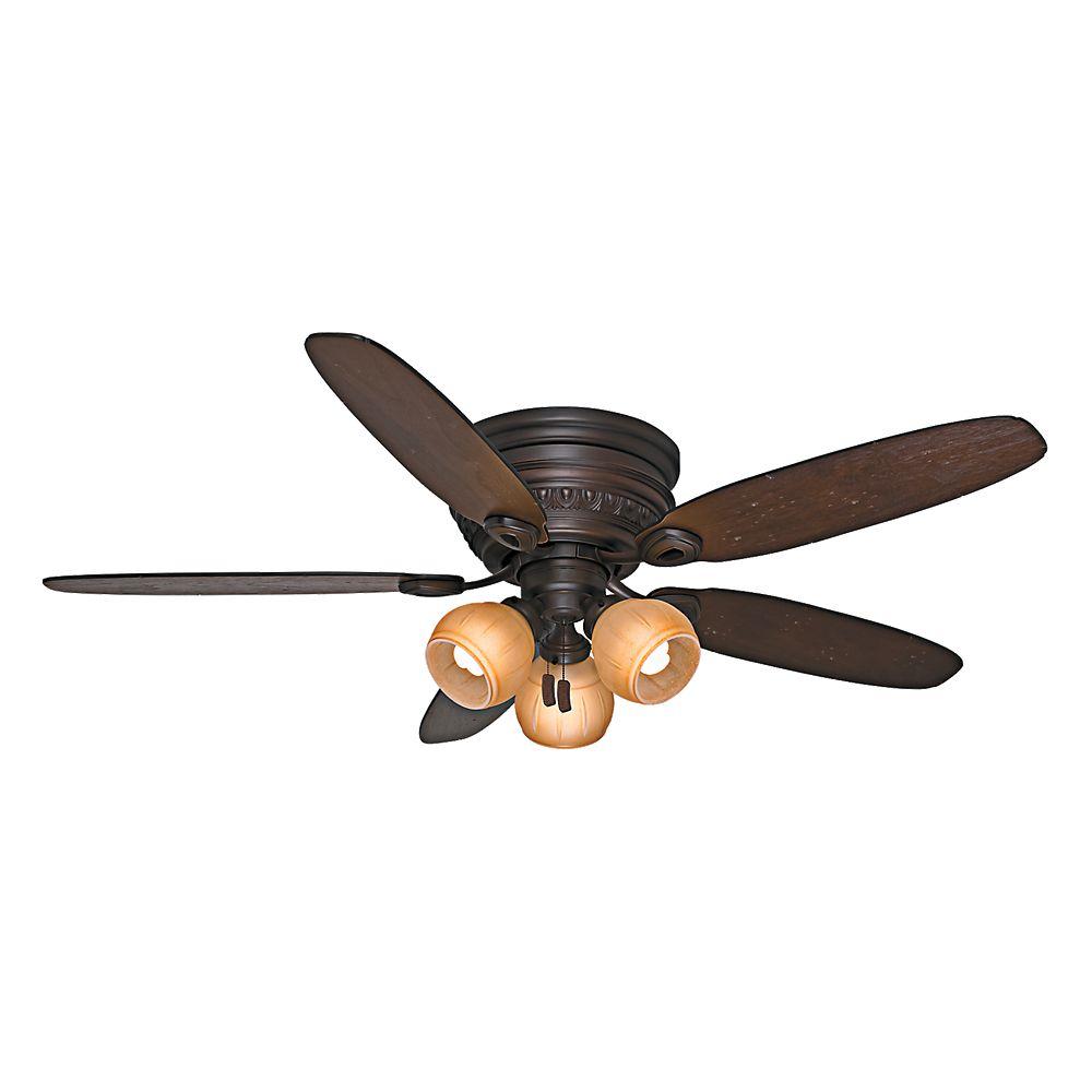 Casablanca Casablanca Caledonia 54 Inch  Brushed Cocoa Indoor Ceiling Fan