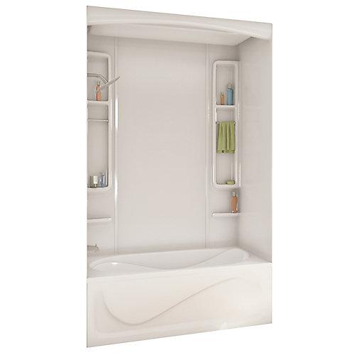 MAAX White Alaska Acrylic Tub Or Shower Wall Kit 80 Inches | The ...