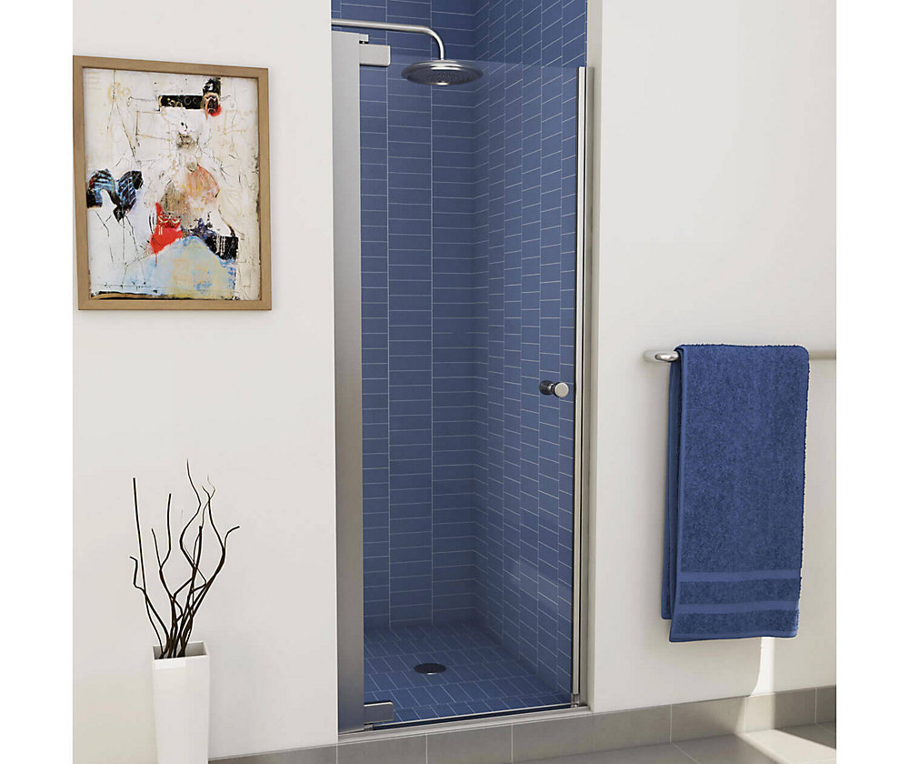 Insight Pivot Shower Door 24 1/2 - 26 1/2 Inches