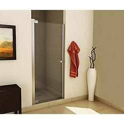 MAAX Insight 31 1/2 - 33 1/2 pouces -Porte de douche à pivot