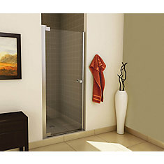 Insight Pivot Shower Door 34 1/2 - 36 1/2 Inches