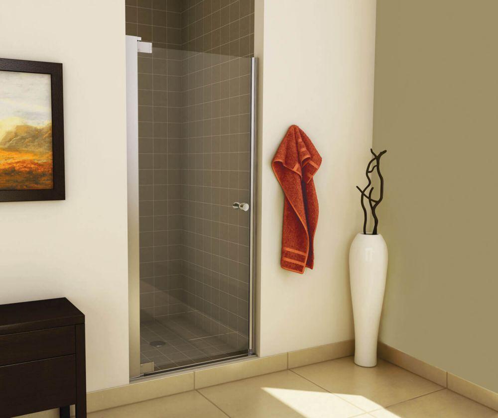 Insight 34 1/2 - 36 1/2 pouces -Porte de douche à pivot