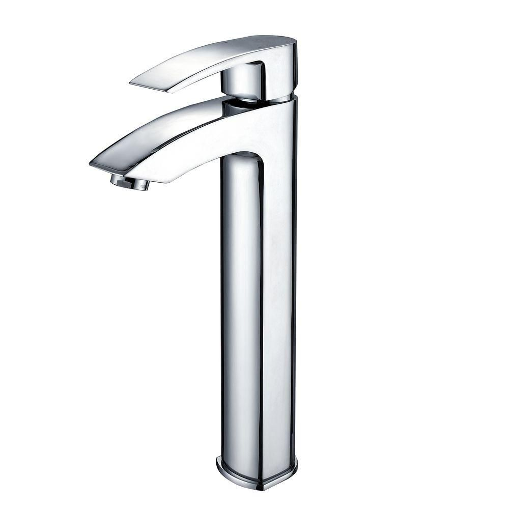 Visio Single-Lever Vessel Bathroom Faucet in Chrome Finish