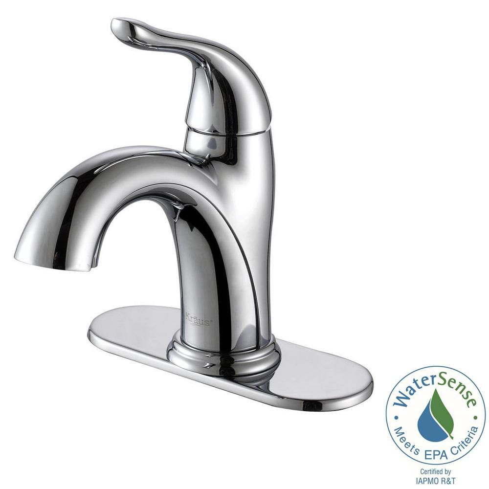 Arcus Single-Lever Basin Faucet Chrome Finish
