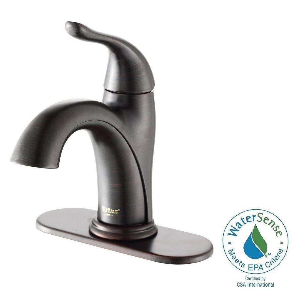 Arcus Single-Lever Basin Faucet Oil Rubbed Bronze Finish