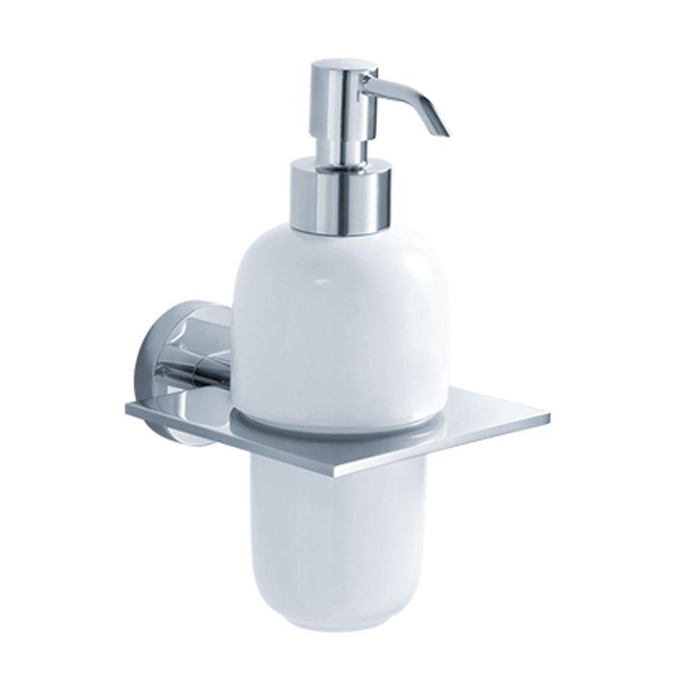 Imperium Bathroom Accessories - Wall-Mounted Ceramic Lotion Dispenser