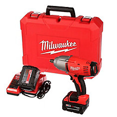 M18 18-Volt Lithium-Ion Cordless 1/2-Inch Impact Wrench W/ (2) 3.0Ah Batteries & Hard Case