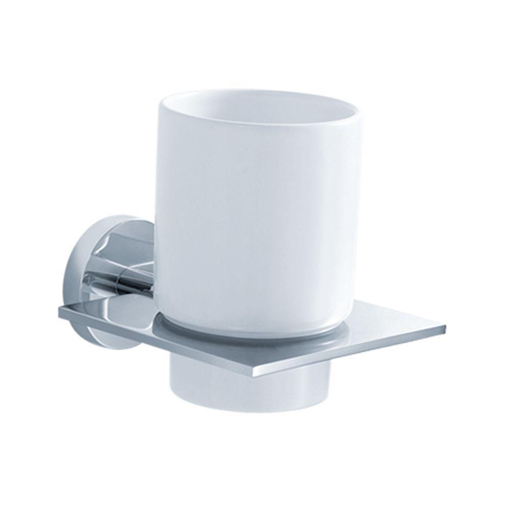 Imperium Bathroom Accessories - Wall-Mounted Ceramic Tumbler Holder