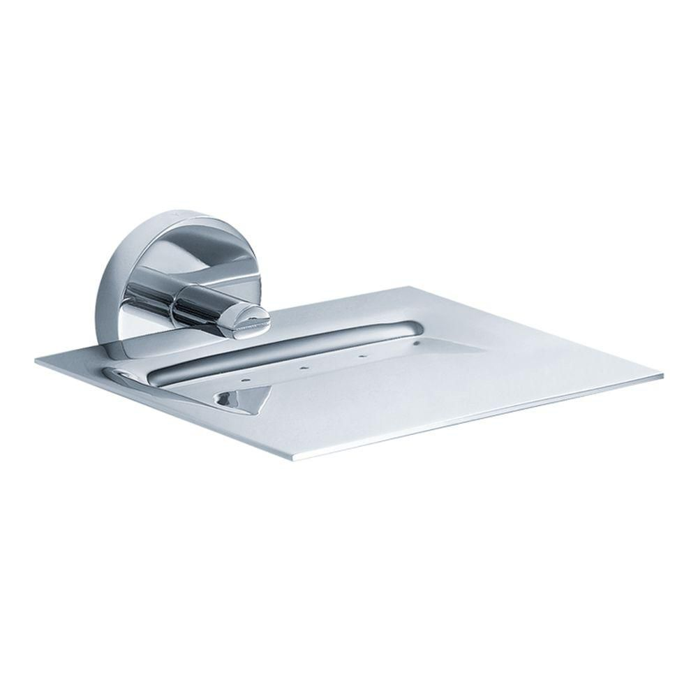 Imperium Bathroom Accessories - Wall-Mounted Brass Soap Dish
