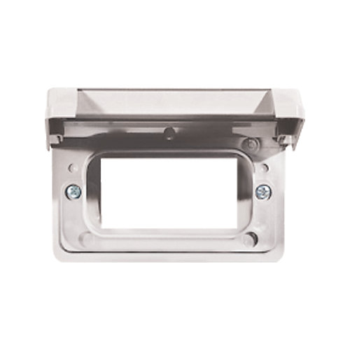 Couvercle Horizontal Étanche En PVC  Pour Prise DDFT – Blanc