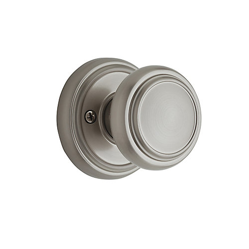 Weiser Wickham Inactive Knob, Satin Nickel Finish