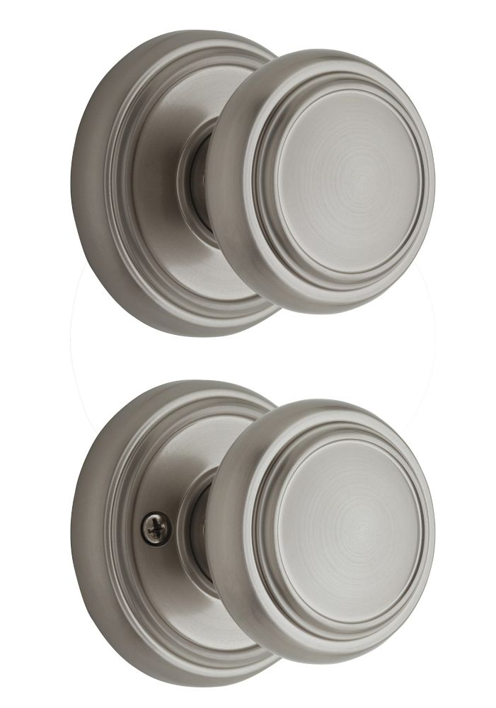 Bouton Passage Wickham Weiser, fini Nickel Satin