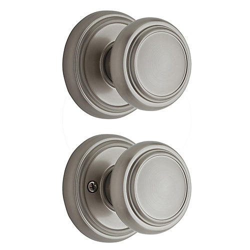 Wickham Satin Nickel Passage Knob
