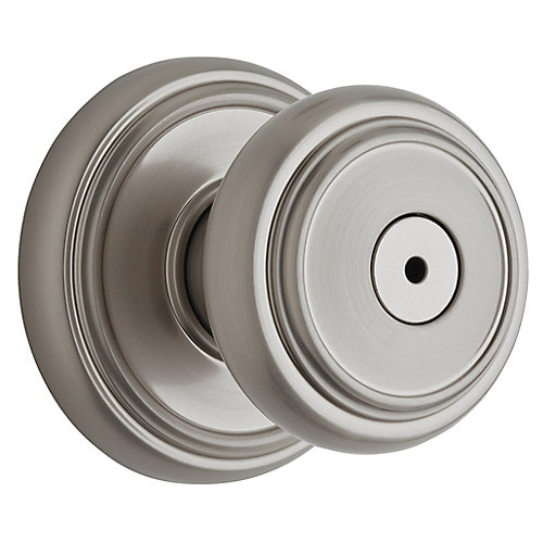 Wickham Satin Nickel Privacy Knob
