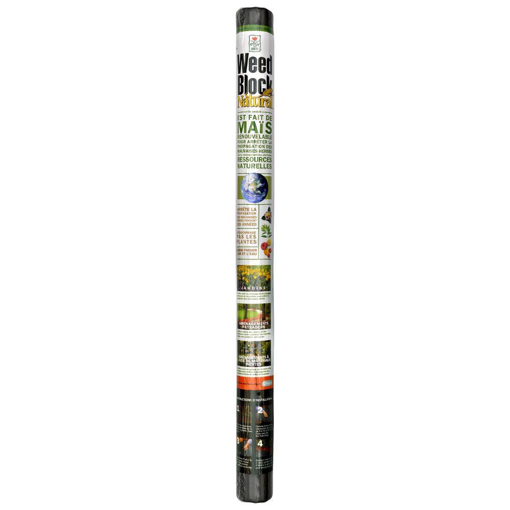 WeedBlock Natural 40 Inch x 36 Feet