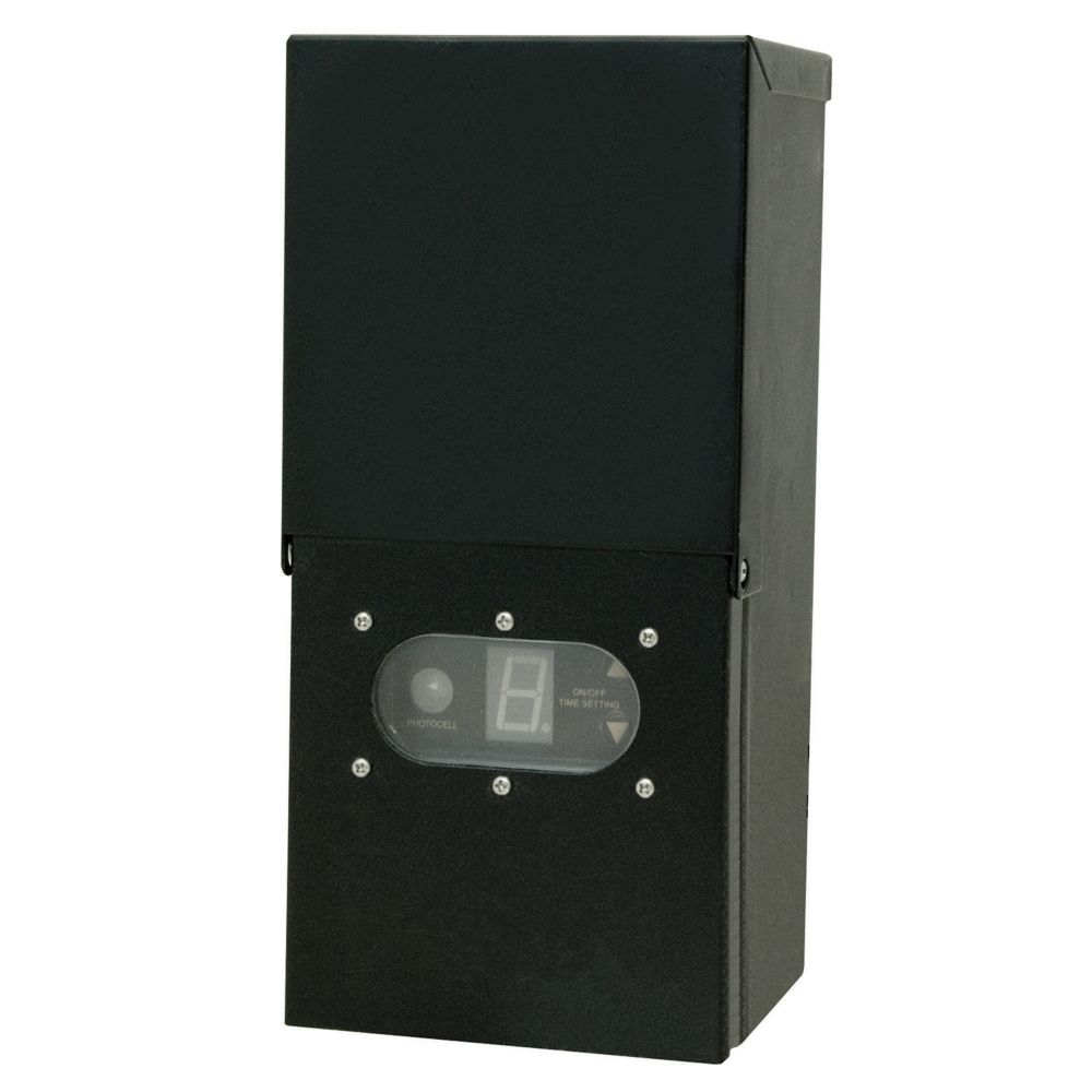 Hampton Bay Low Voltage Landscape Lighting Transformer: Hampton Bay 300w Transformer