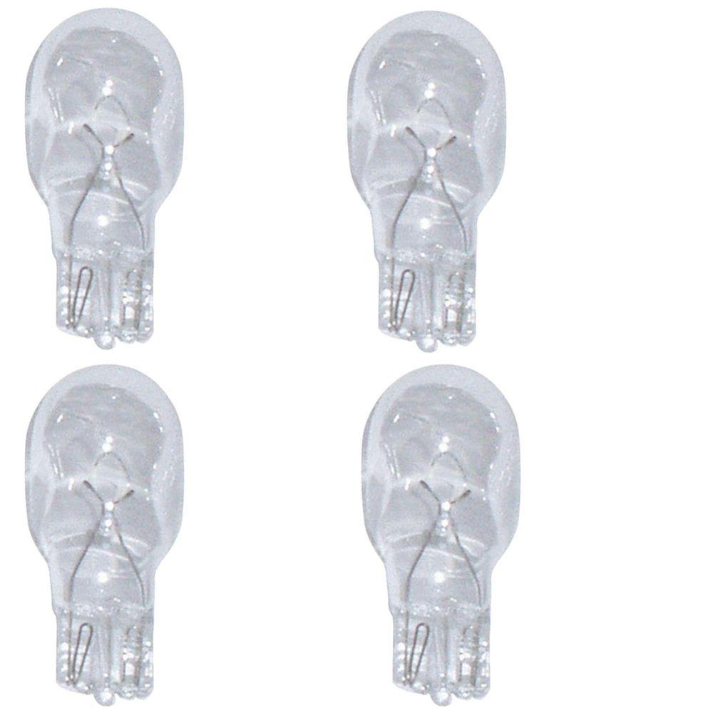 12V 4W Incandescent Wedge Bulbs - 4 per Card