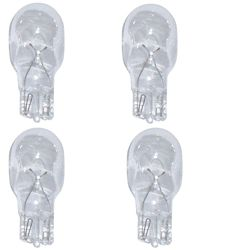 Hampton Bay 12V LowVage 4W Incandescent Wedge Light Bulb (4-Pack)