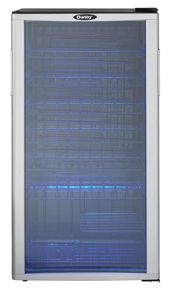 35 Bottle Wine Cooler with LED-Lit Interior