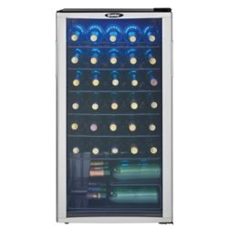 Frigidaire 38 Bottle Capacity Wine Cooler The Home Depot