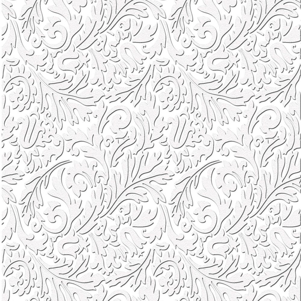Damask Paintable Wallpaper