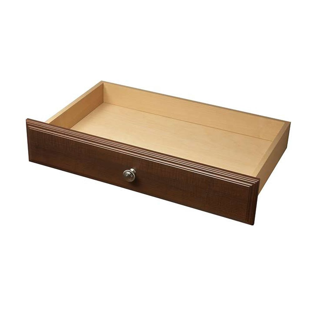 Deluxe Drawer, 4 Inches - Espresso