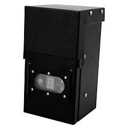 Hampton Bay Transformateur de 12 Volt 200 Watt avec minuterie numérique