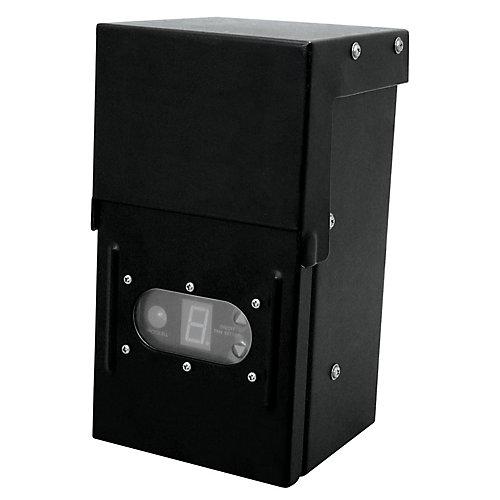 12Volt 200 Watt Transformer with Digital Timer