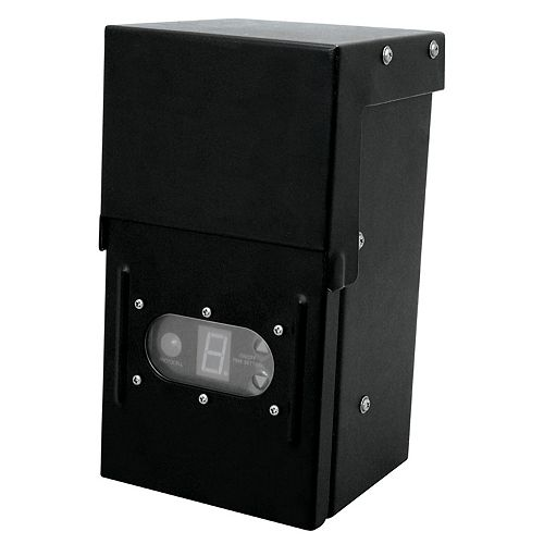 Hampton Bay 12Volt 200 Watt Transformer with Digital Timer