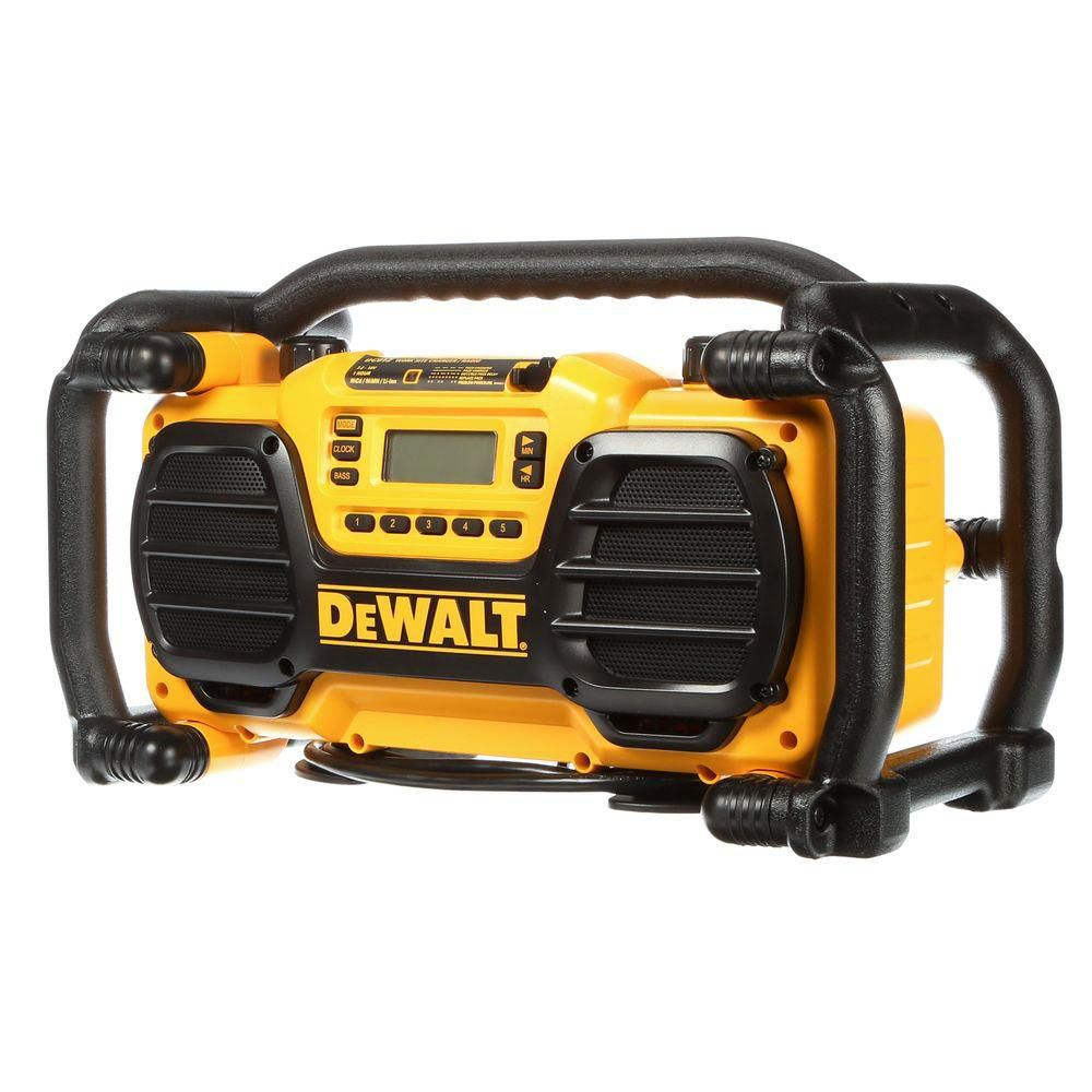 7.2-Volt To 18-Volt Heavy-Duty Worksite Charger Radio