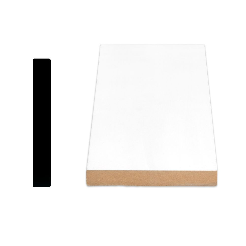Alexandria Moulding Painted Fibreboard Door Jamb 5/8 Inches x 4-9/16 Inches x 84 Inches