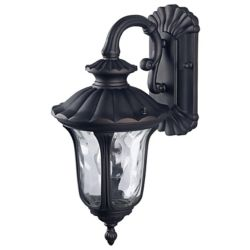 Canarm Ltd. Jennifer 1 Light ORB Wall Lantern, Watermark Glass