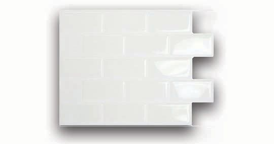 White Mosaik Tile