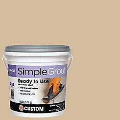 #122 Linen - Pre-Mixed Grout 3.9L