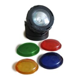 Angelo Décor 10W Pond/Fountain Halogen Spotlight with Coloured Lenses