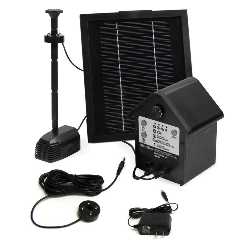 Angelo Décor 80 GPH Medium Solar Hybrid Pump