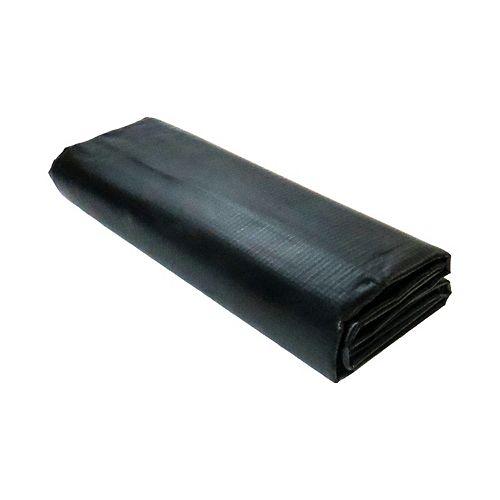 Angelo Décor Recouvrement en PVC renforcé pour bassin de 1,5m x 1,5 m noir