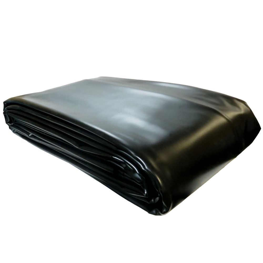 PVC Pond Liner Black - 12 Feet x 14 Feet
