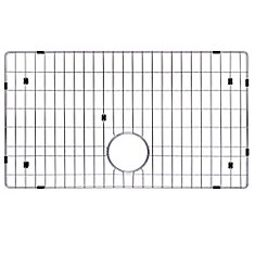 Stainless Steel Bottom Grid w/Protective Anti-Scratch Bumpers for KHF200-30 Kitchen Sink