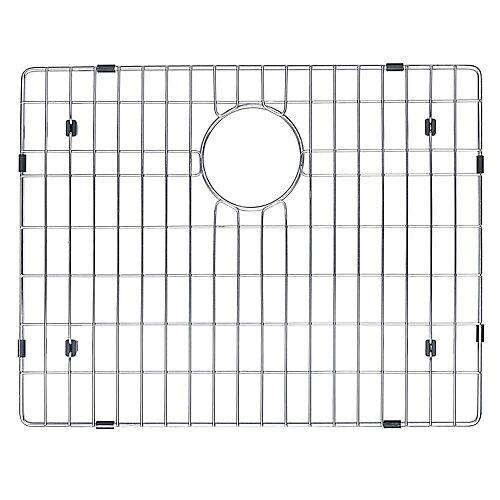 """Grille de fond d'évier de 53,3 cm (21"""") x 40,6 cm (16"""") en acier inoxydable"""