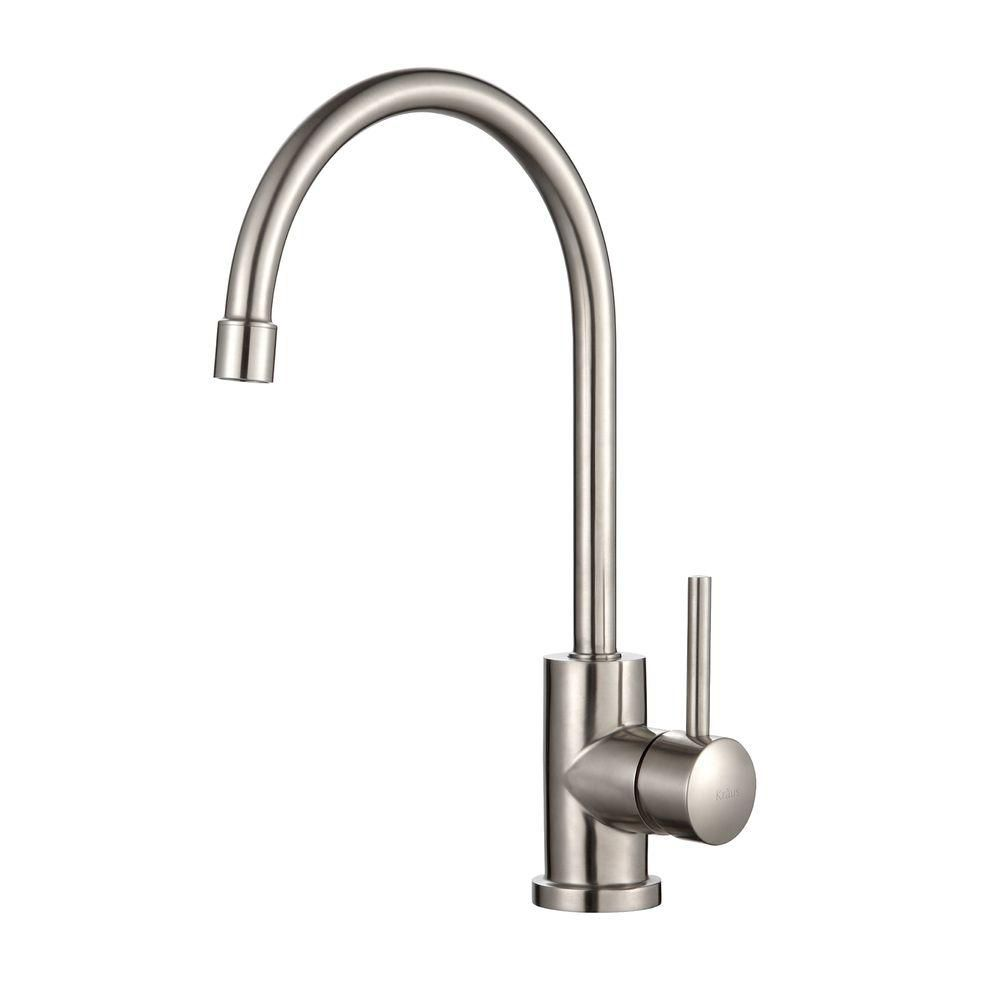 Single Lever Stainless Steel Kitchen Faucet