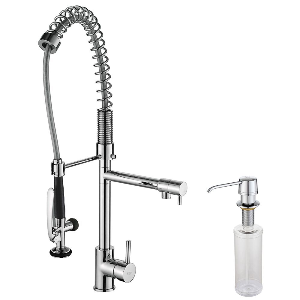 Aw Single Lever Kitchen Faucet With Pull Out Sprayer